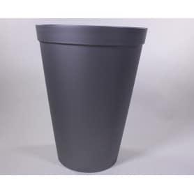 vase plastique (intérieur référence 537328) gris