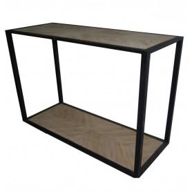 Table de présentation sans plateau zinc