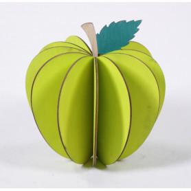Pomme rondelles bois D. 11 cm