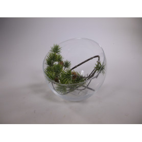Vase boule slicy D. 16,5 x H. 18 cm