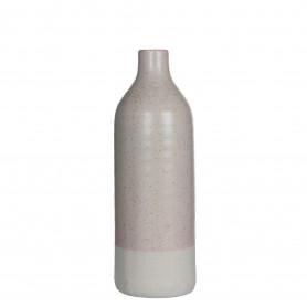 Bouteille céramique D. 13,5 x H. 40 cm