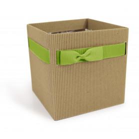 Boite carton Simply L. 12 x l. 12 x H. 12,5 cm