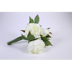 Pivoine bouquet H. 25 cm