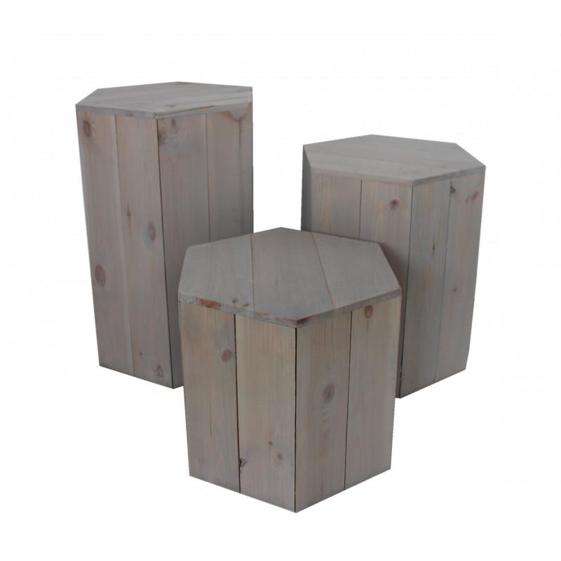 Set 2 casiers L. 45 x l. 46 x H. 39 cm Gamme Garden