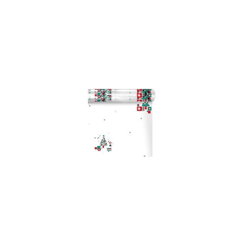 Polypro imprimé NOËL L. 120 x l. 0,60 m