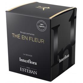Bougie parfumée Thé en fleur INTERFLORA