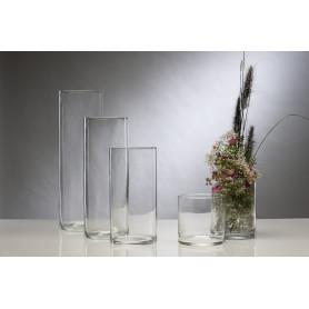 Vase cylindre en verre Top - Matériel fleuriste