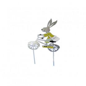 Lapin vélo pic Panpan - Grossiste fleuriste