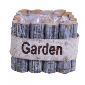 Coupe en rondin de bois carrée Nyssu - grossiste fleuriste