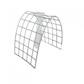 Eprouvette avec support en grille courbée Riano - matériel fleuriste