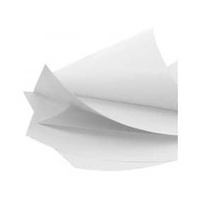 Rame de Kraft étanche blanc 80 x 80 cm 250 feuilles