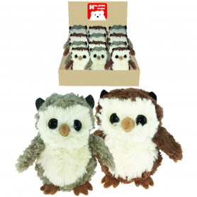 Peluches hiboux - Grossiste peluches