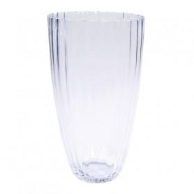 Vase haut conique en verre Medsa - vase pour fleuriste