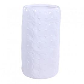 Vase en céramique motif tissu cousu Rinda - grossiste décoration