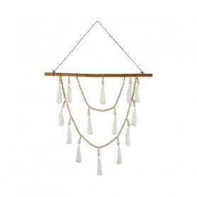 Suspension en bois et perle Perla - grossiste en décoration