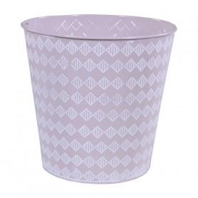 Pot de fleurs rond en zinc Kuerre - décoration florale
