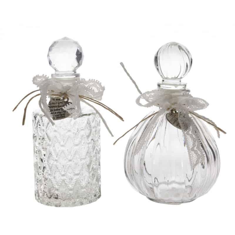 Flacon en verre classique Classy - grossiste fleuriste