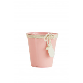 Pot de fleurs rond pampille ananas Ziaora - grossiste fleuriste