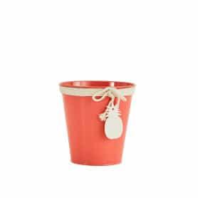 Pot de fleurs rond pampille ananas Ziaora - grossiste décoration