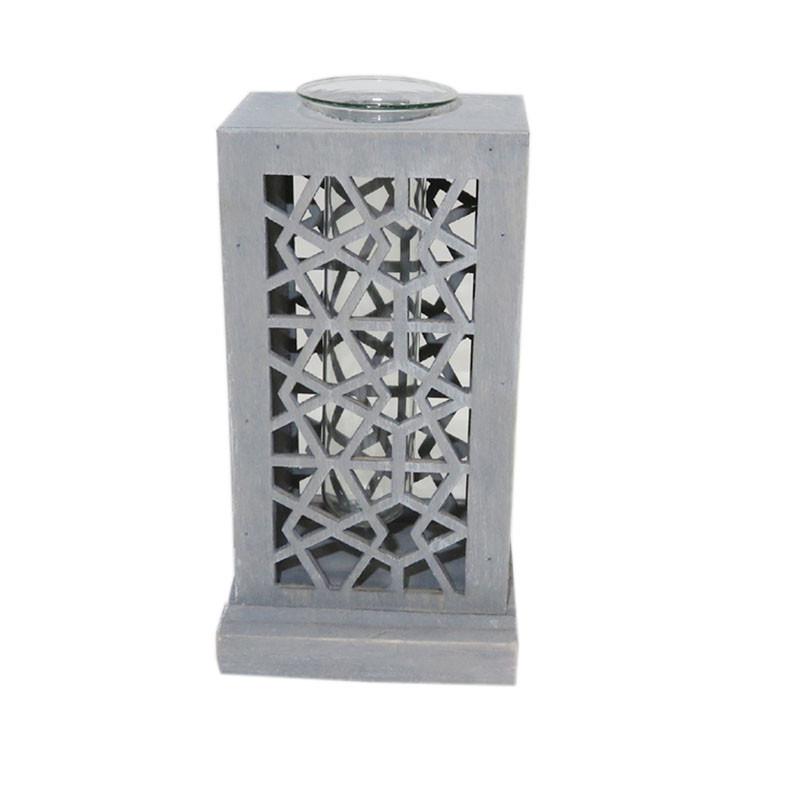 Porte éprouvette en bois motif moucharabieh Barieh - grossiste en décoration