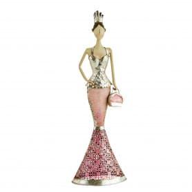 Princesse décorative en métal 66cm Neya - matériel décoration