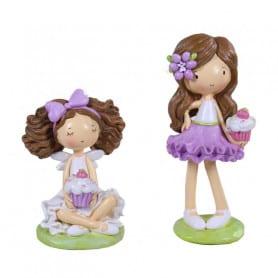 Figurines Cupcakes Juliette - Grossiste déco