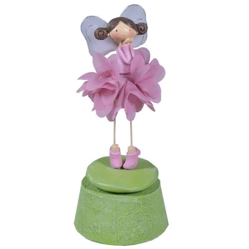 Boîte à musique fillette Marion - Grossiste décoration