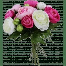 Renoncule bouquet artificielles
