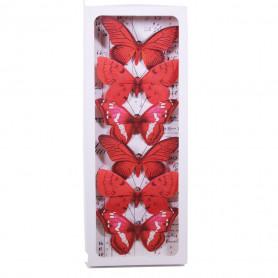 Papillon sur pince ou pic Butterflo - Grossiste fleuriste