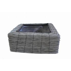 Coupe carrée plastique 4 phalénos