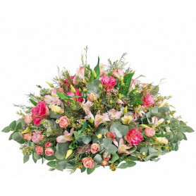 Coussin mousse florale rond 15cm - materiel fleuriste