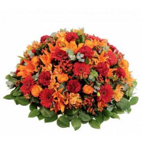 Coussin mousse florale rond 28cm - grossiste fleuriste