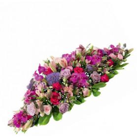 Raquette hydro 60cm mousse florale en barre - materiel fleuriste