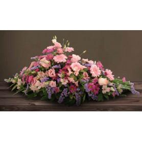Raquette hydro 60cm mousse florale en barre - décoration de cercueil