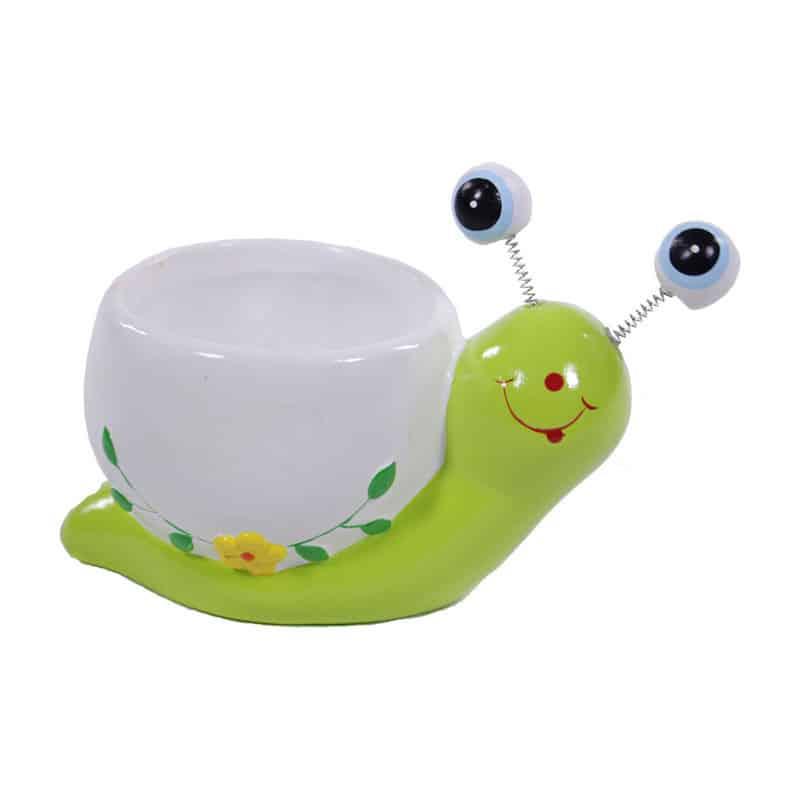 Pot céramique Hugo l'escargot - Grossiste décoration