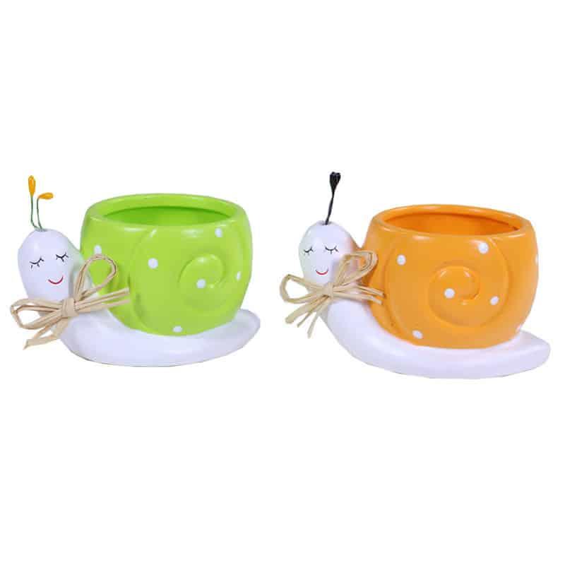 Cache-pot céramique Sergio - Grossiste décoration