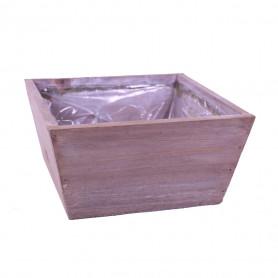 Coupe carrée en bois Infini - materiel fleuriste