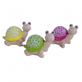 Figurines tortues assorties Fabia - Grossiste décoration