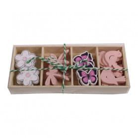 Boîte éléments printemps girly Dida - Grossiste décoration