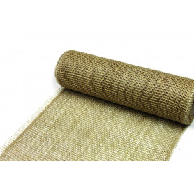 Chemin de table en jute Foxi - Grossiste fleuriste