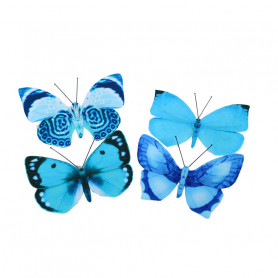 Papillons sur pic Kilou - Matériel fleuriste