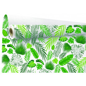 Kraft fantaisie Tropical laize 80cm - fourniture fleuriste