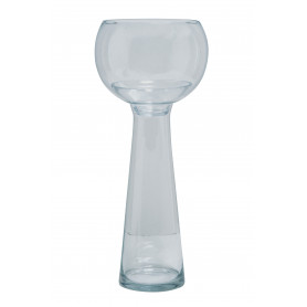 Vase en verre bulbe Dildon - Matériel fleuriste