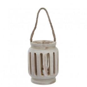 Lanterne en bois Flotty - Matériel fleuriste