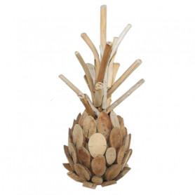 Ananas en bois flotté à suspendre Playa  - Matériel fleuriste