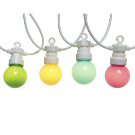 Guirlande ampoules Multicoly - Matériel fleuriste