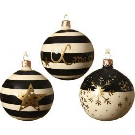 Boîte assorti boule de Noël Raya - Grossiste fleuriste