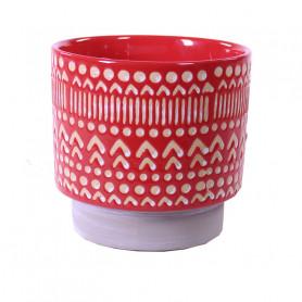 Cache-pot en céramique Etnik - Matériel fleuriste