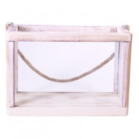 Serre en bois et verre Chourave - Grossiste décoration