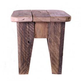 Tabouret en bois Crokdur - Grossiste décoration